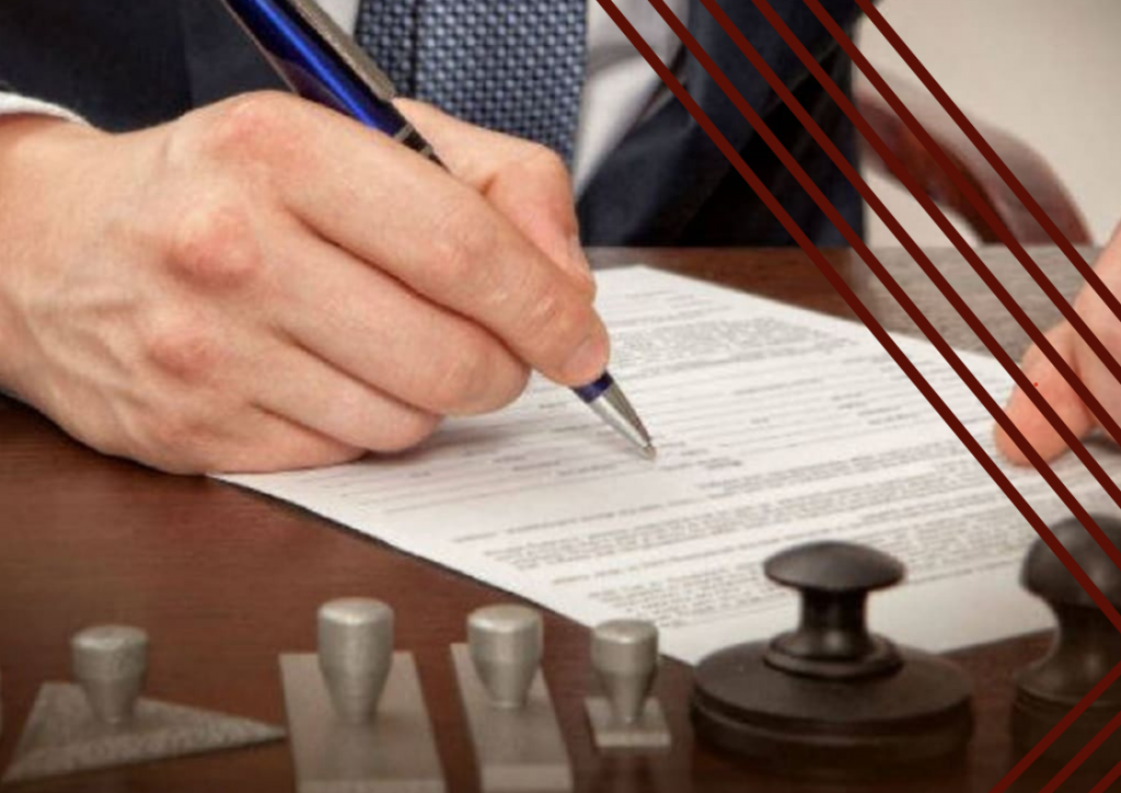 Certificación notarial de firmas en el día para todo organismo del Estado.